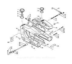 Echo cs 1001vl parts diagram for fuel system oil tank