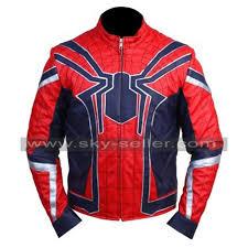 avengers infinity war iron spider man jacket