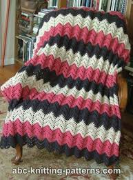 Ripple Afghan Patterns Fascinating 48 Free Crochet Ripple Afghan Patterns Crochet Pinterest Open