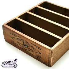 wood wedding card box with slot wooden post all one color