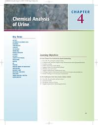 Clinitest Tablets Color Chart Chemical Analysis Of Urine