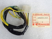 kz650 wiring harness ebay 1977 kawasaki kz650 wiring diagram kawasaki nos new 26001 1117 center wiring harness kz kz750 kz650 csr 1980 83