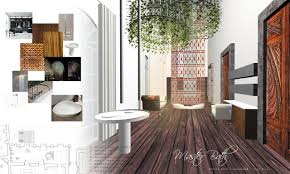 Interior Design presentation board, for a bathroom that makes you want to  move-in ASAP by Atelier Angelica Centeno | Favorite Places & Spaces |  Pinterest ...