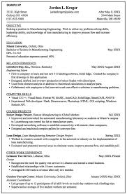 Manufacturing Engineer Resume Examples Pin By Latifah On Example Resume Cv Engineering Resume Resume