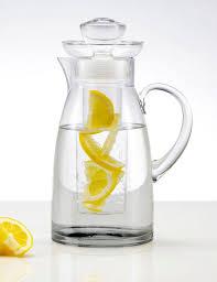 artland sedona glass pitcher with flavor infuser