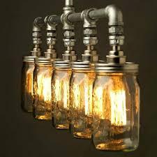 jar lighting fixtures. Mason Jar Light Fixtures Medium Size Of Chandelier Fixture Wood Buy Lighting