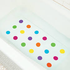 dandy dots bath mat