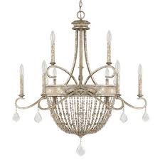 capital lighting ss 9 light candle chandelier