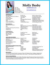 dance resume examples. nice The Best and Impressive Dance Resume Examples Collections