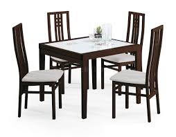poker  dining table wenge by esf wfolding frosted glass top