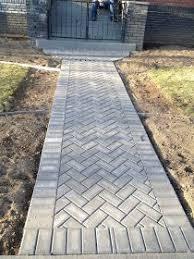 brick paver patio herringbone. Unique Patio Herringbone Paver Path Intended Brick Paver Patio A