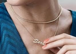 custom name necklaces pendants kay