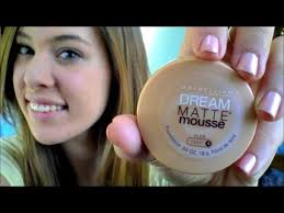 first impressions maybelline dream matte mousse foundation