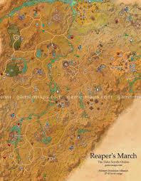 reaper's march map the elder scrolls online game maps com Eso Map reaper's march zone map arenthia, dune the elder scrolls online eso maps, guides & walkthroughs eso map guide