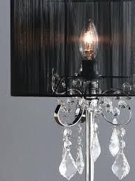 paris light chrome table lamp with black string shade jpg 1200x1600 beacon lighting chandelier light paris