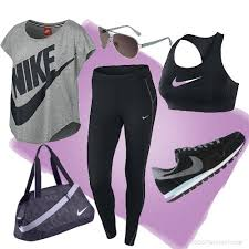 nike outfits. gym wear for nike lovers by ranawialrawi outfits