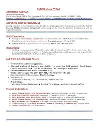 Microbiology Lab Assistant Resume Resume Samples With Photo Sample