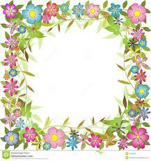 Free Floral Backgrounds Floral Background Border Stock Vector Illustration Of Botany 5336548