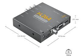 Blackmagic Design H 264 Pro Recorder Live Streaming Blackmagic H 264 Pro Recorder
