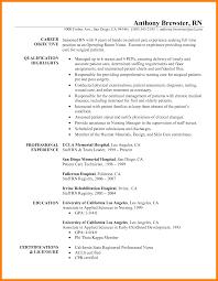 8 Examples Of Rn Resume Addressing Letter