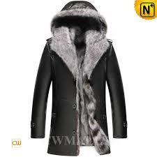 mens fox fur coat cw836028 cwmalls com