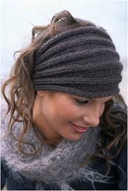 Knitted Headband Pattern Unique Decoration