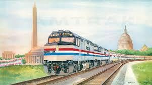 amtrak train drawing.  Amtrak Amtrak Wall Calendar 1986 For Train Drawing