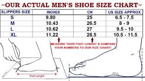 House Shoe Size Chart Mens Leather Suede House Slippers Faux Fur Indoor Shoes