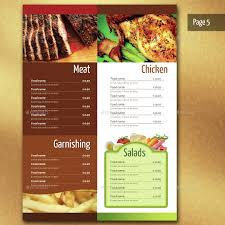 Restaurant Menu Template 29 Restaurant Menu Templates Psd Docs Pages Free