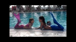 Small Picture Miami Beach Mermaids Swimmable Mermaid Tails YouTube