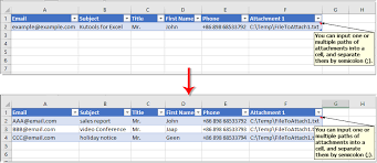 Contact List Spreadsheet Template How To Quickly Create Mailing List Template In Excel