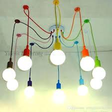childrens bedroom lighting. Childrens Bedroom Light Shades Ceiling Spider Colored Pendant Lighting Room Decorated Restaurant Cafe I