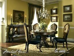 ashley dining room table round furniture kitchen sets varied round dining table sets and their kinds