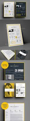 52 Best Resume Templates Word Psd Indd Download