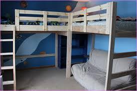 l shaped loft bed diy