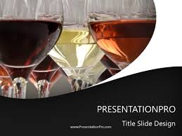 Wine Powerpoint Template Wine Service Powerpoint Template Background In Food And Beverage