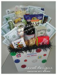 novel designs llc of las vegas custom vegas fun gift basket las vegas birthday
