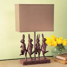 Rabbit Decorative Accessories All Decorative Accessories Dancing Rabbits Lamp Spring 10