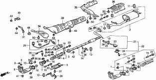 honda accord exhaust system diagram database wiring exhaust pipe 1 honda oem parts 1994 honda accord for 5dr ex