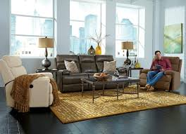 new york furniture. Image May Contain: 1 Person, Smiling, Sitting, Living Room, Table And New York Furniture