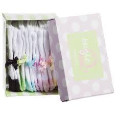 Trumpette - Baby Girls 'Suzie Q's' Socks Box Set (6 Pairs)   Childrensalon