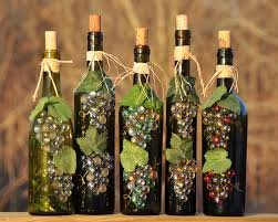 wine bottle crafts | Bottle De-Lites - Home