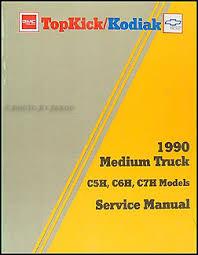 chevrolet c70 service manuals shop owner maintenance and 1990 gmc topkick chevy kodiak repair manual original