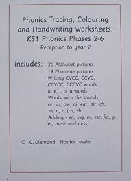 Worksheets are overview of what to teach at phase six, phonic. Phonics Tracing And Handwriting Phases 2 6 Worksheets For Ages 4 7 Years Pdf File To Print Out Amazon Co Uk Office Products