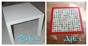 diy cheap and chic bottlecap table my so called crafty life bottle cap furniture
