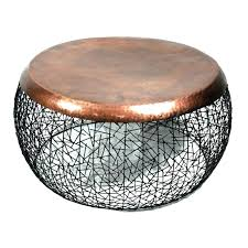 metal drum coffee table copper drum coffee table and detail drum coffee in metal drum coffee