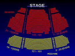 Stephen Sondheim Theatre Interactive Broadway Seating Chart