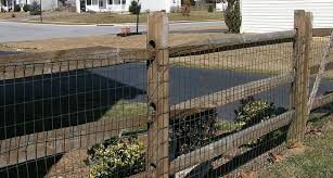 wire fence ideas. Split Rail Fence With Mesh Wire Ideas