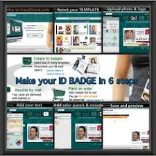 employee badges online online id card creator employee badges membership school and