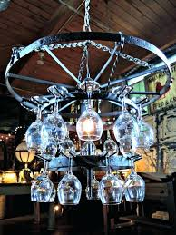 wagon wheel chandelier diy antique wine glass chandelier with wooden ceiling and unique decoration idea wagon wheel mason jar chandelier diy